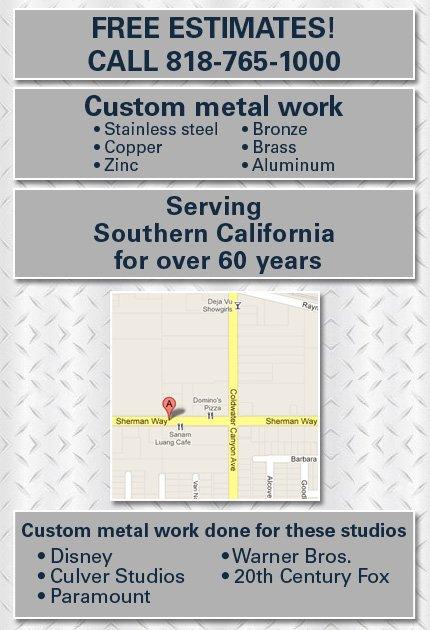 Sheet Metal Fabricators - North Hollywood, CA - Frederick Sheet Metal