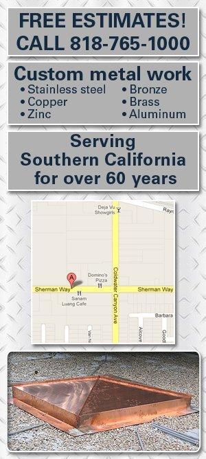 Metal Fabricators - North Hollywood, CA - Frederick Sheet Metal
