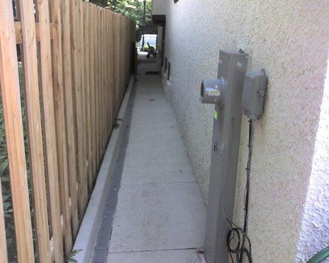 Concrete Sidewalk (after)