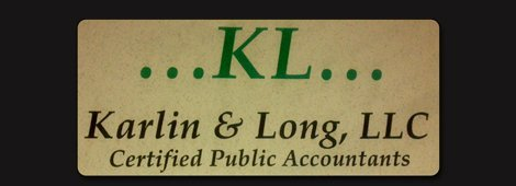 Accounting | Lawrence, KS | Karlin & Long, LLC | 785-766-7556