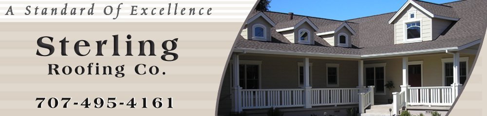 Roofing Contractor - Glen Ellen, CA - Sterling Roofing Co.