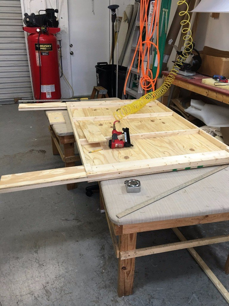 Headboard Fabrication