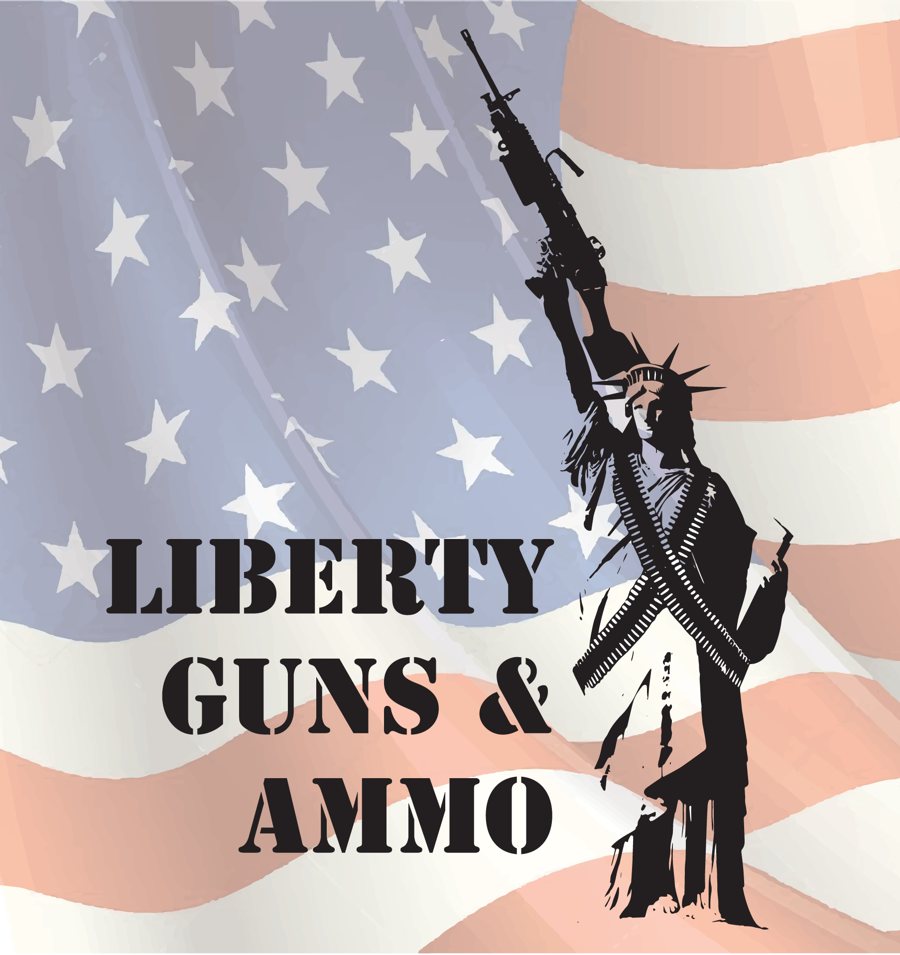 Liberty Guns & Ammo - Logo