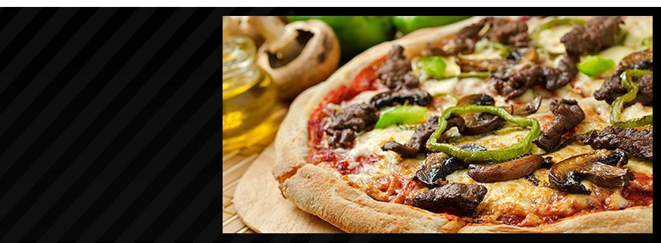 Pizza with mushroom toppings