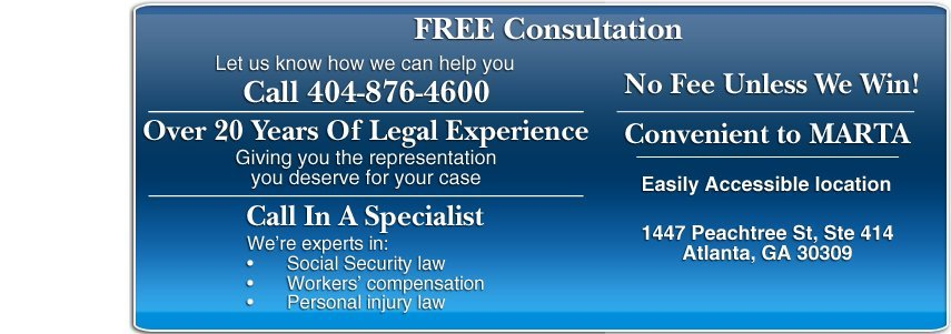 Social Security Attorney  - Decatur, GA - Jeffrey M. Flynn, P.C. Attorney At Law