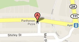 Parthenon Pizza 60 West Main Street Ayer, MA 01432