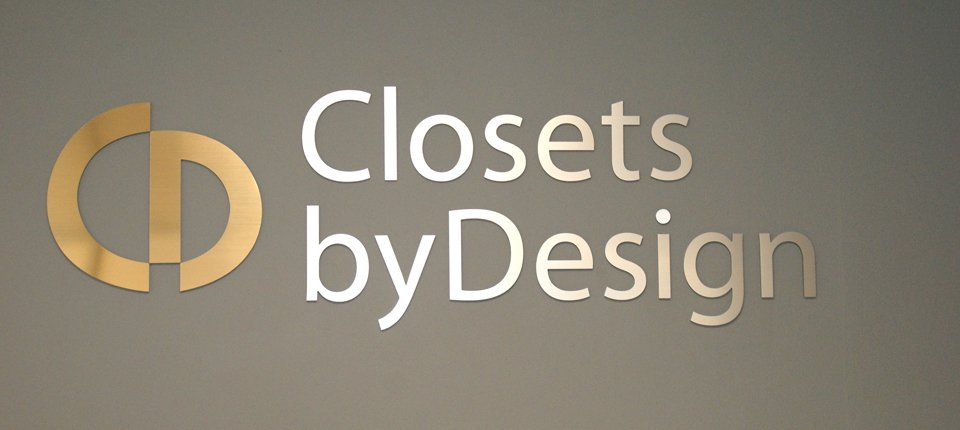 Closet by Design - Interior Letters