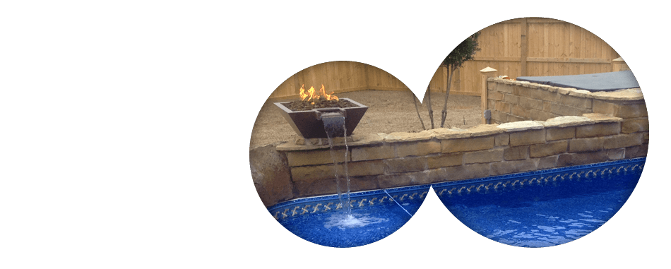 Water and Fire Pool Features