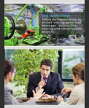 Site inspections for accurate legal video