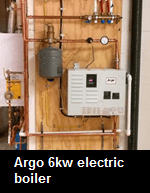 Argo 6kw electric boiler