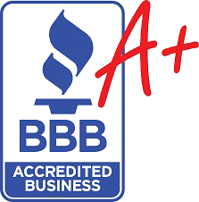 A+ Rating with the Better Business Bureau - Logo