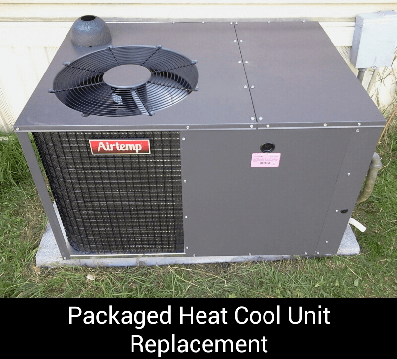 Packaged Heat Cool Unit Replacement