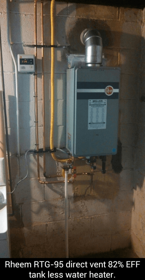 Rheem RTG-95 Tankless Water Heater
