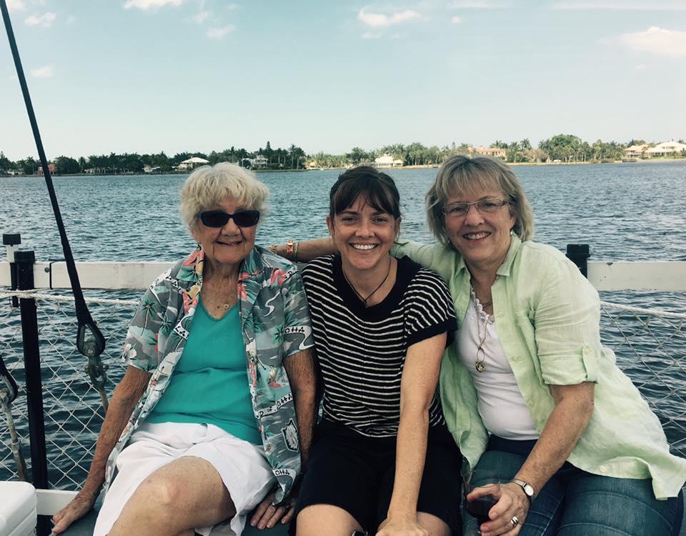 Women's on boat