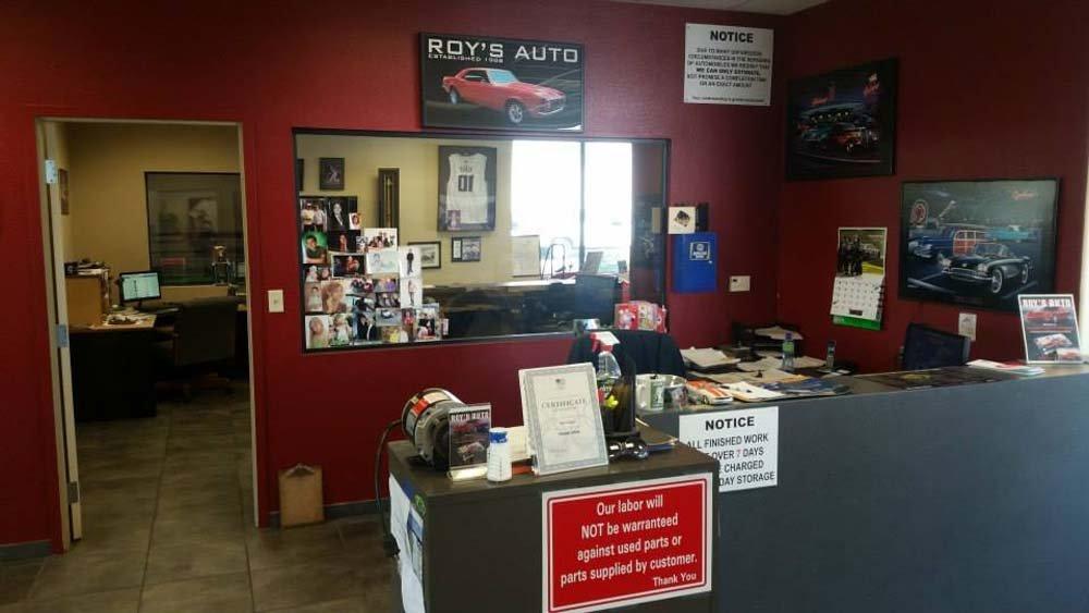 auto shop office