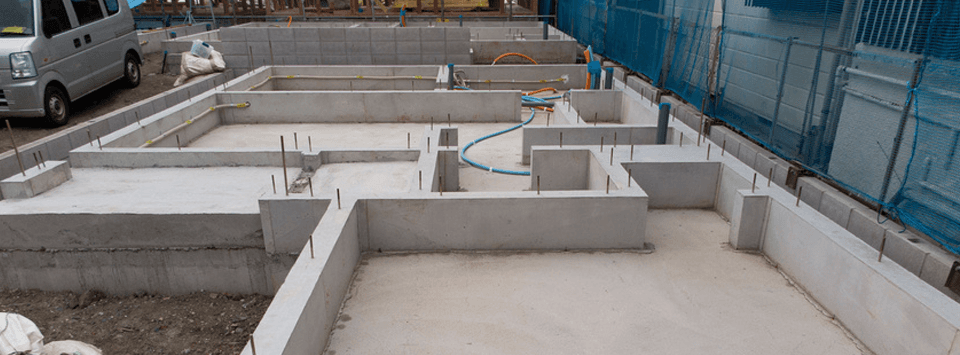 Cinder Block Foundations