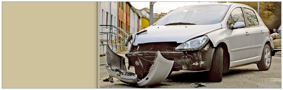 A View Of Damage Car