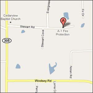A-1 Fire Protection LLC - 9450 Stewart Rd  Olive Branch, MS 38654