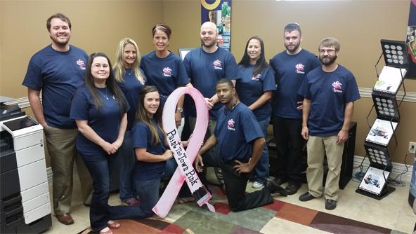 Paint the Town Pink | Lafayette, LA | Digitech Office Machines | 337-235-4722