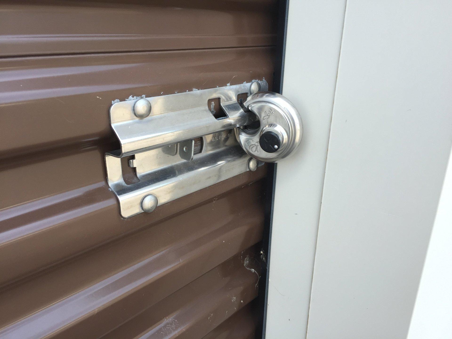 Safe storage lock