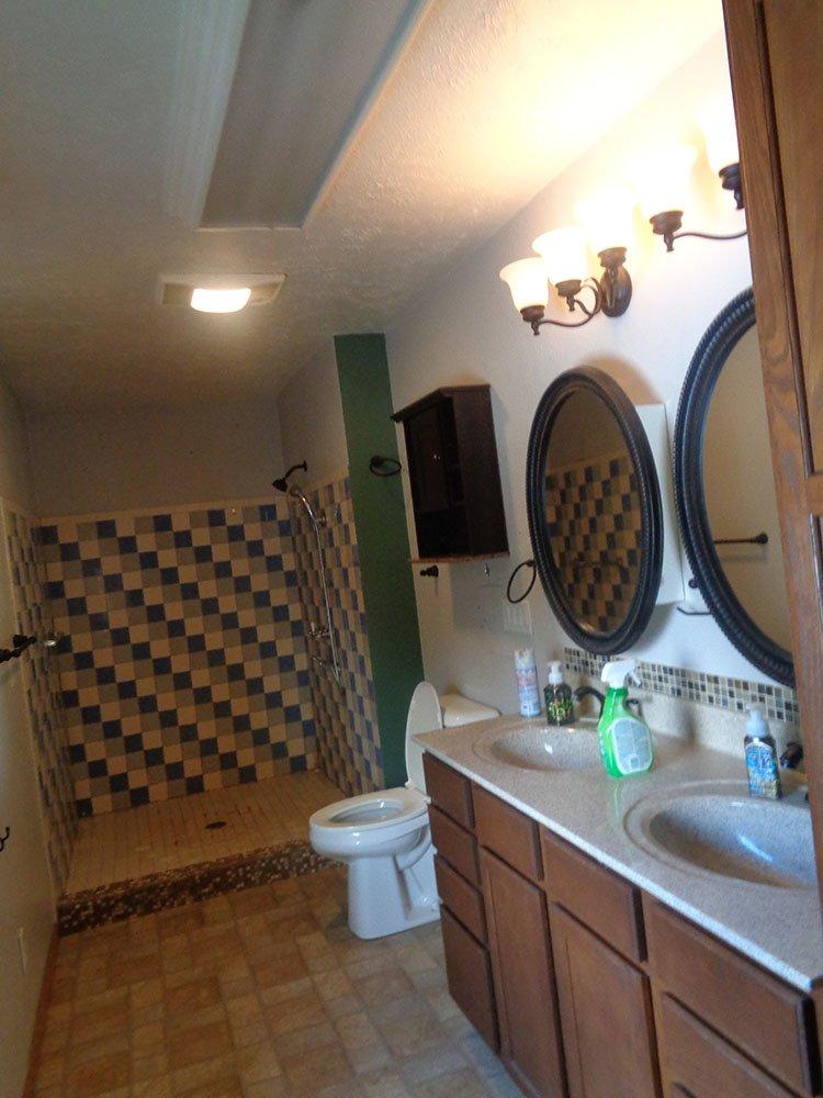 Bathroom remodeling before