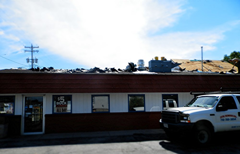 Roofing  remodeling before