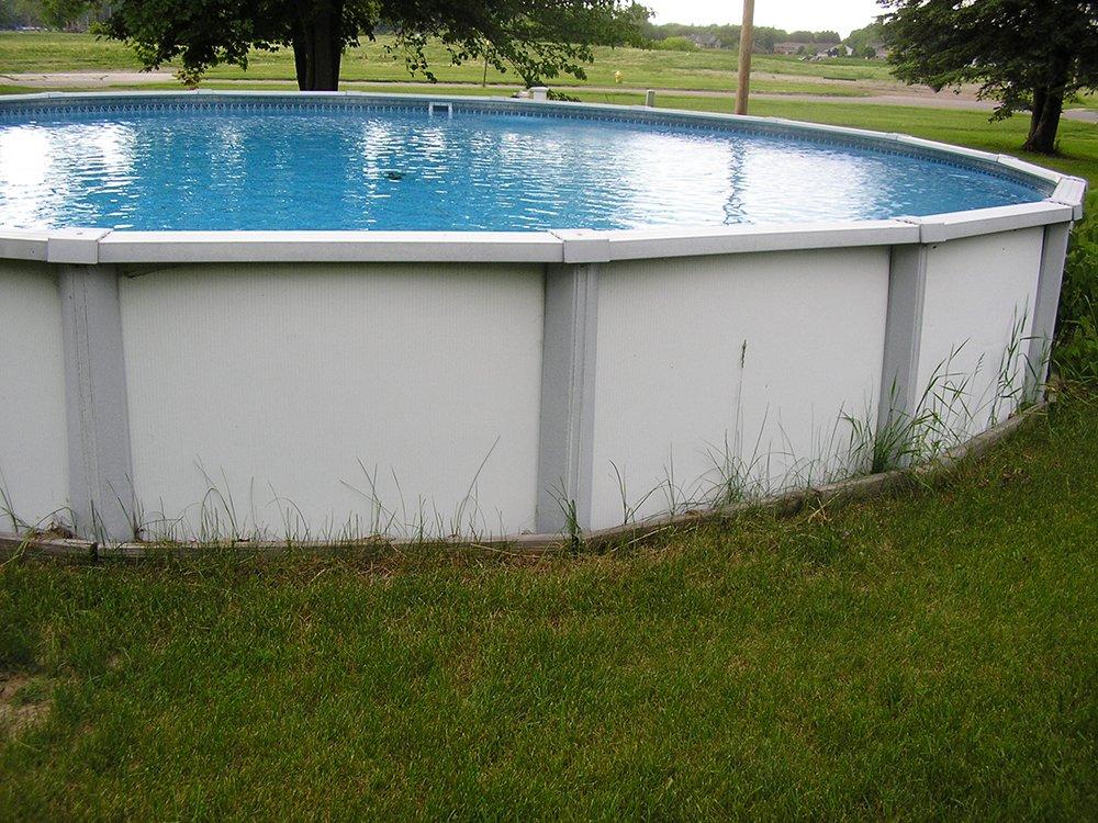 Swimming pool  before