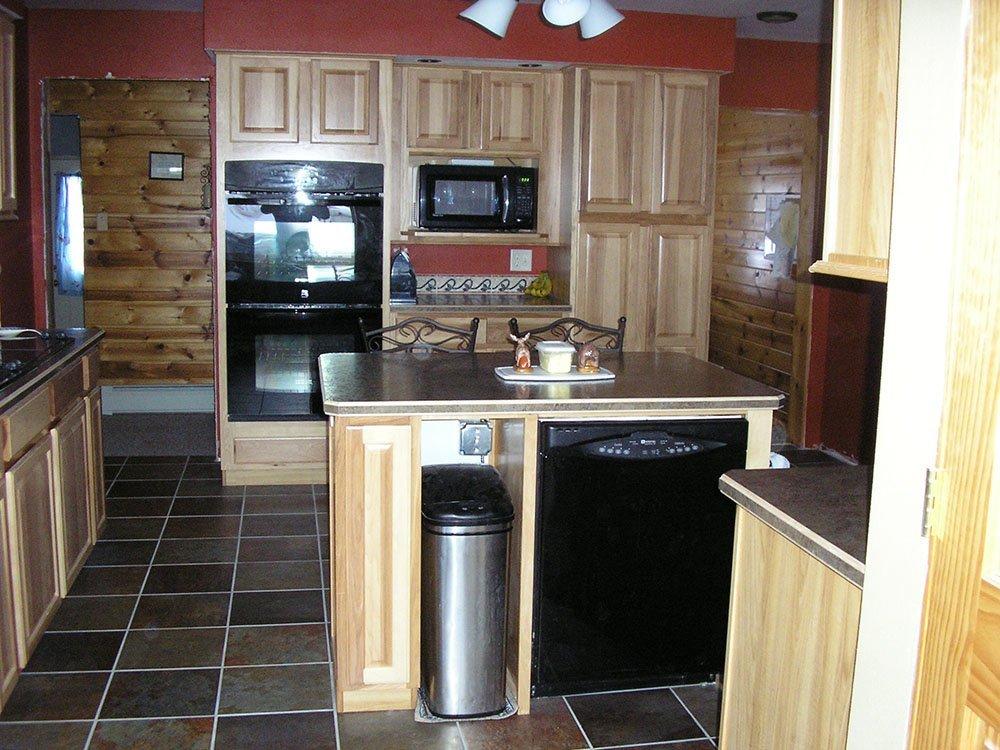 Kitchen remodeling after