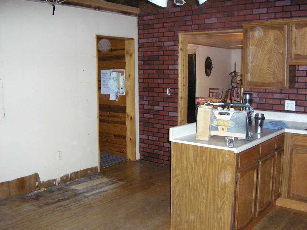 Kitchen remodeling before