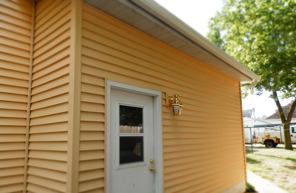 Siding after