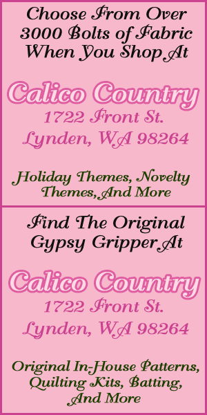 Quilting And Fabric Store - Lynden, WA - Calico Country