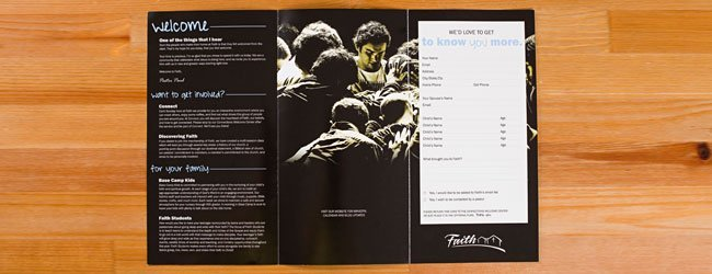 Custom Design Brochure