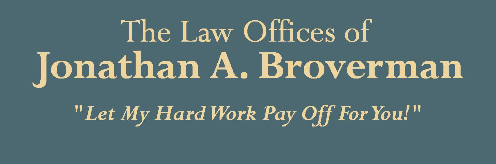 Attorney Jonathan A. Broverman - logo