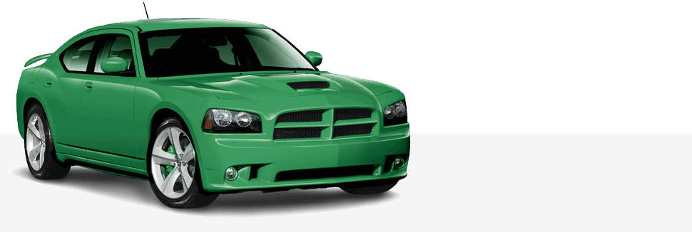 Green Color Car