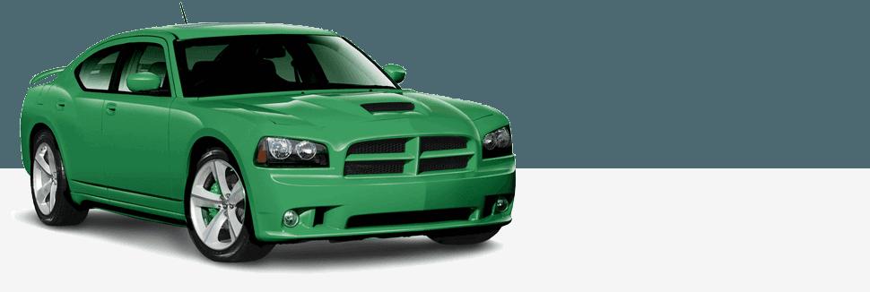 Green Color Car