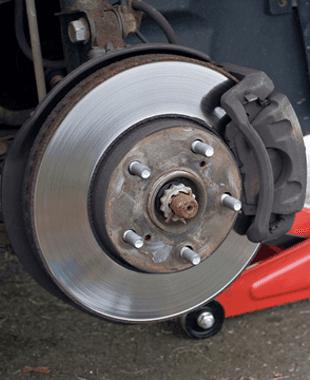 A View Of Brake Repair