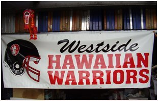 West Side Warriors High quality vinyl graphics