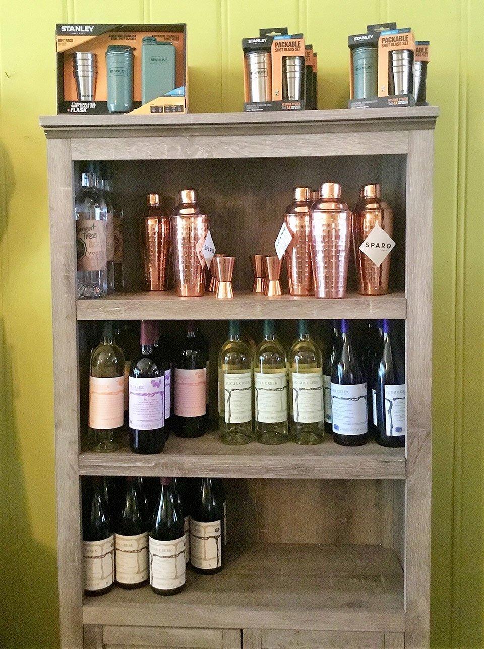 Cocktail bottles