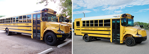 School Busing - Albert Sanchez Bus Co - Albuquerque, NM - School Buses