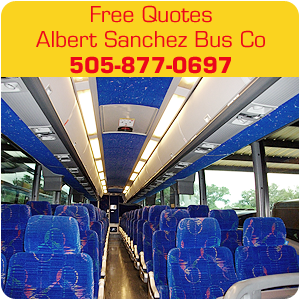 charter bus lines - Albuquerque, NM - Albert Sanchez Bus Co - Free Quotes Albert Sanchez Bus Co 505-877-0697
