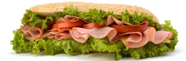 Long roll ham