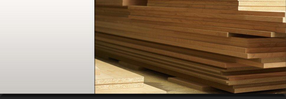 Pile of cedar board