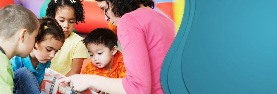 Children in child care