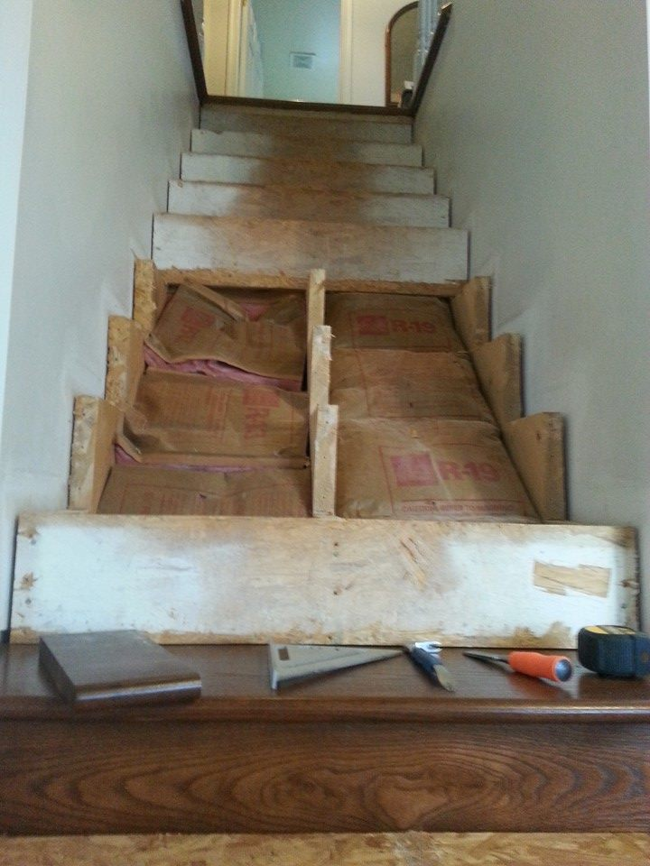 Stairs flooring replacement