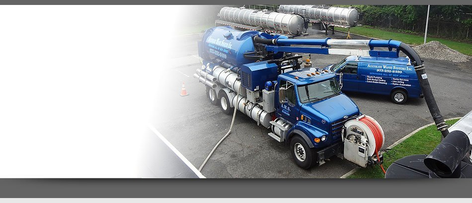 Vactor Service | Lake Hopatcong, NJ | Accurate Waste Systems | 973-252-8400