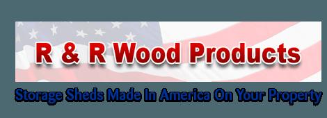 Storage Sheds | Jackson, MI | R & R Wood Products | 517-782-9746