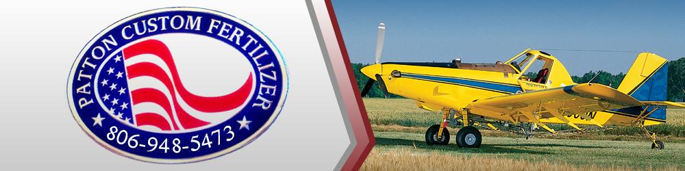 Agricultural Aviation Sunray, TX - Patton Custom Fertilizer