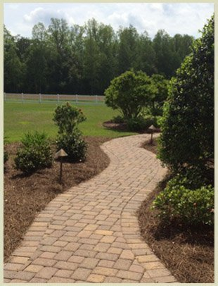 Walkway | Waycross, GA | Wright's Landscaping & Irrigation Inc | 9122836591