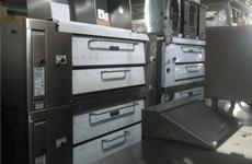 Classic compact style of Attias pizza oven