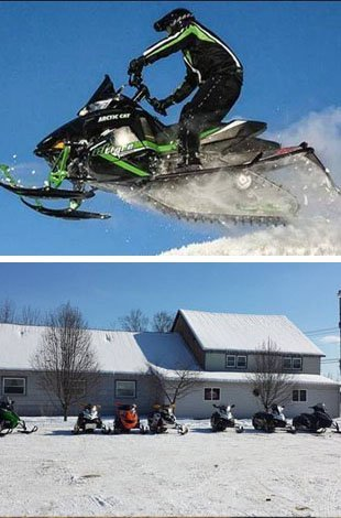 Check out the snowmobiling culture around our restaurant. Low prices. Great food. Friendly staff. Burgers, sides. Call us at 315-533-7229.